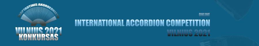 Tarptautinis akordeonistų konkursas VILNIUS 2021